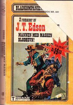 The Hooded Riders (Floating Outfit Story) av John Thomas Edson John Thomas, Man, Hoods, Comic Books, Comics, Reading, Outfit, Outfits, Cowls