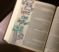 What is Bible journaling all about? Check out why I love Bible journaling for creative study and worship. What Is Bible, Bible Verses About Love, My Bible, Bible Art, Bible Quotes, Bible Study Journal, Scripture Study, Art Journaling, Prayer Journals
