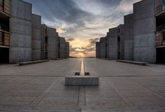 The Salk Institute - brutal by the sea.