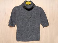 L15 spirytus 半袖ニットセーター☆Mサイズ