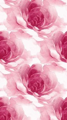 Watercolor Roses Pattern 640 x 1136 Wallpapers disponible para su descarga gratuita.