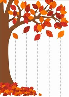 Autumn / Fall Preschool Centers by Lavinia Pop Preschool Decor, Fall Preschool Activities, Preschool Centers, Preschool Books, Preschool Worksheets, November Preschool Themes, Autumn Crafts, Fall Crafts For Kids, Autumn Art