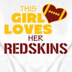 REDSKINS ~ Girly Style!! on Pinterest | Washington Redskins, NFL ...