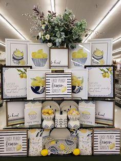 Lemon Kitchen Decor, Kitchen Themes, Kitchen Ideas, Spring Home Decor, Diy Home Decor, Above Kitchen Cabinets, Kitchen Pantry, Country Decor, Farmhouse Decor