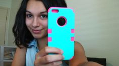Review for Hot Pink and Teal Colorful Robot Case for iPhone 5/5s myLife ...