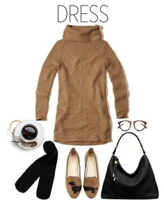 """Let's Meet for Coffee"" by youaresofashion ❤ liked on Polyvore featuring Hollister Co., Michael Kors, Monki and under100"