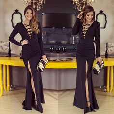 Vestido poderoso @sublinimodas ❤️ Isso que eu chamo de pretinho básico né?!  A loja envia para todo Brasil meninas! O lançamento da nova coleção é amanhã ❤️