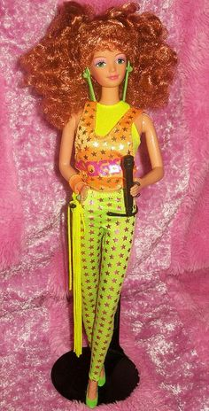 Barbie and the Rockers Diva®Doll. Awww yeah! I had Diva, of course - she was the redhead! ~ TLR