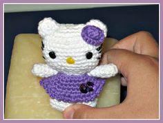 Little Hello Kitty Amigurumi ~Free English Pattern