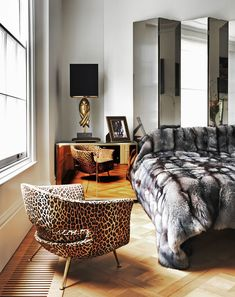 Inside a London Home Full of Luxurious Layers // Bedrooms