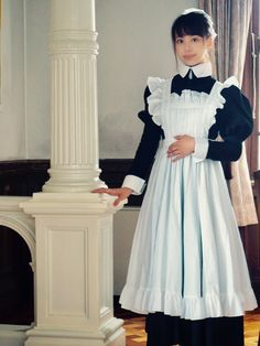 Cute Girl Outfits, New Outfits, Dress Outfits, Lolita Fashion, Fashion Beauty, Maid Outfit Anime, Victorian Maid, Punk Dress, Maid Cosplay