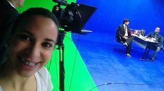 Aula de telejornalismo