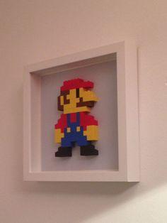 super mario bros diy wall art - Google Search