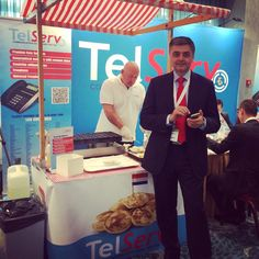 The poffertjes are tasting great at Capacity Europe in Amsterdam! If you are attending, please stop by our booth to try them yourself!  #Capacity #Europe #Amsterdam #telecom #event #poffertjes