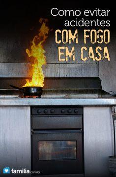 Como evitar acidentes com fogo em casa
