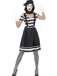 Image result for mime with a skirt