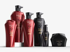 UONI Professional Hair Care Series on Behance