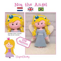 PDF Pattern Noa the Angel