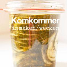 Komkommer inmaken wecken moestuin volkstuin