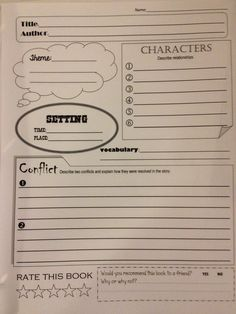 Book Report Forms   After Reading Activity Sheet   by lastlawn