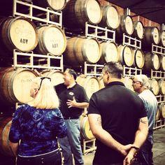 Wine tasting + private tour = happy Lecesses #adwinery #winetasting #cabernet #fermentation #wine