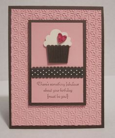 Stampin Up Create a Cupcake
