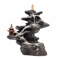 Backflow incense burner incense cone burner home decor incense holder ceramic