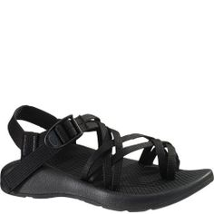 98d23aea79f7e 102038W Chaco Women s ZX 2 Vibram Yampa Wide Sandals - Black Sport Sandals