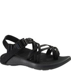 102038W Chaco Women's ZX/2 Vibram Yampa Wide Sandals - Black
