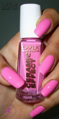 Ninja Polish: Layla - CE-21 Sensual Pink, from the Ceramic Effect collection