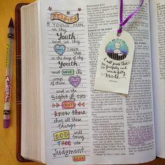 Susyan Crafts Journaling Bible