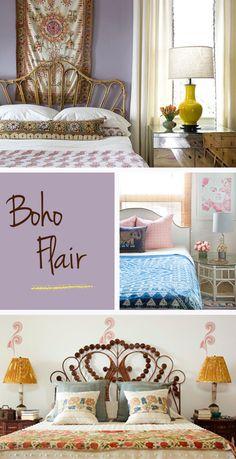 Love the purple bedroom the best!