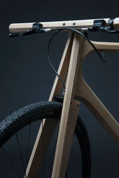 Wooden Bikes: Wood and 3D-printed aluminium parts by Paul Timmer