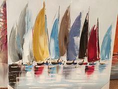 Margit Home Trends home trend design furniture Sailboat Art, Sailboat Painting, Sailboats, Watercolor Sea, Watercolour Painting, Metal Flower Wall Art, Ship Paintings, Abstract City, Sea Art
