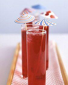 Drink Parasols - Martha Stewart Crafts