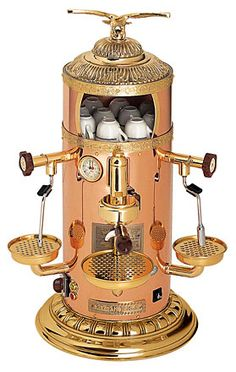 Belle Epoque Coffee Maker. I would actually start drinking coffee if I had this beauty. Our kitchen NEEDS this.