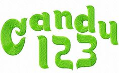 Instant Embroidery Font Download 7 Formats In one Font 019