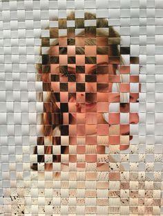 Woven photographs inspired by David Samuel Stern Paper Weaving, Weaving Art, Gcse Art Sketchbook, Perspective Photography, Photography Themes, Shadow Art, Art Portfolio, Art Pages, Magazine Art