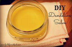 DIY Dandelion Salve :: Faulk Farmstead - good tut with pics and Q/A at the end of the page Herbal Remedies, Home Remedies, Natural Remedies, Holistic Remedies, Healing Herbs, Natural Healing, Natural Medicine, Herbal Medicine, Health And Wellness