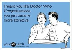 doctor who = attractive