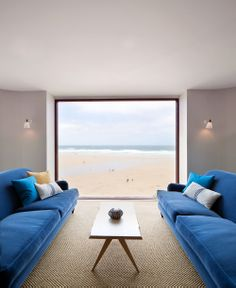 The view over the Atlantic - Ocean Room, Watergate Bay Hotel