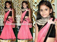 kids in half sarees