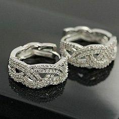 Elegant and generous diamond stud earrings ear rings earrings 2012 new female E - Women's Jewelry