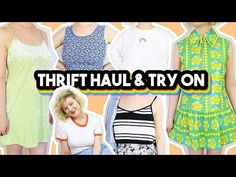 THRIFT HAUL & TRY ON 2018 | 60s, 70s, 80s and 90s clothes! - YouTube