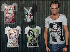 #Sims3 | ShojoAngel's MaleFashionSet5 T-Shirt