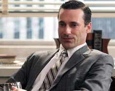 """If ever in doubt, ask yourself, """"What would Don Draper do?"""" This is of course with respect to looking sharp, not dating. This is what we should be aiming for."""