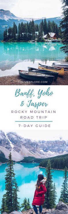 Road Trip Adventure From Vancouver to Rocky Mountains