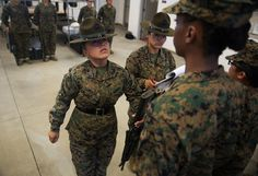 Drill Instructors at Parris Island -  I went through this