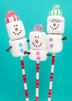 Edible Crafts - these look very cute and easy too