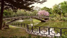 jardines del parque de los principes